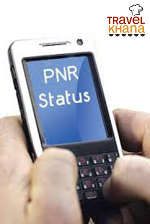 check PNR status on mobile