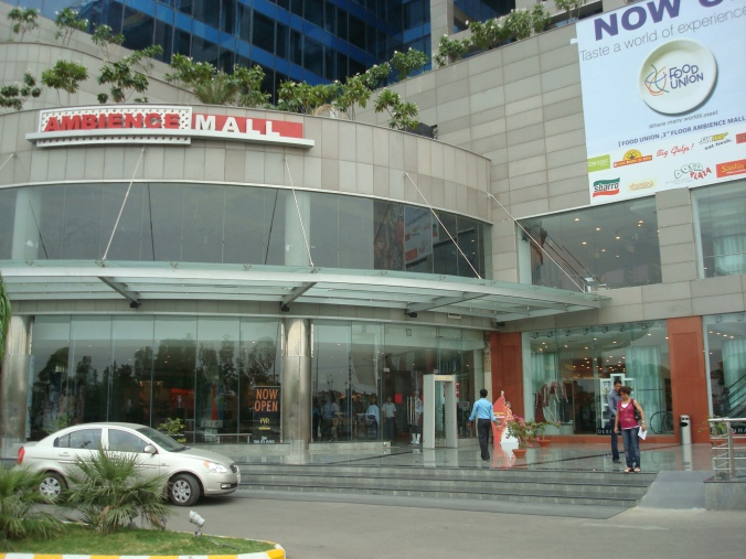 nearest metro station to Ambience Mall in Gurgaon